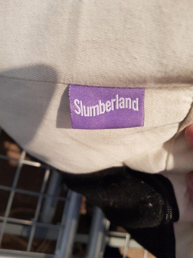 Slumberland Futon Off White