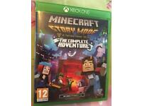 Minecraft story mode series 1 Xbox one