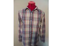 Jack Wills Plaid Cotton Shirt - Size 12