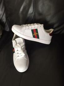 Gucci trainers size 9.5 brand new