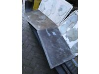 100 USED FLOOR INTERNAL TILES - Good quality. Need cleaning and prep work before use