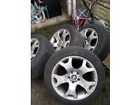 Bmw x5 cheap 19 inch alloys & tyres