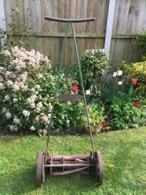 Classic Ransomes Ripper Lawnmower