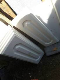 Various kitchen doors and draws and a sink. Collect please. Make an offer.