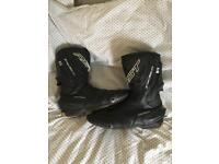 RST tractech motorcycle boots size 11