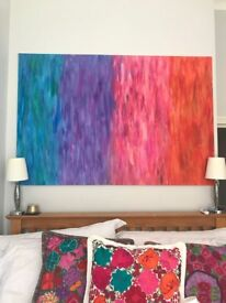 Beautiful Coloured Abstract Painting (150 X 100 CM) - £30