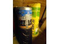 Loft insulation, 2 x rolls, new and unused