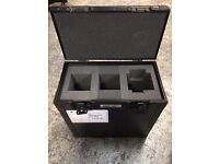 Black 5 Star Flightcase - pro quality heavy duty case in vgc