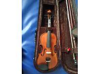1/4 child's violin.