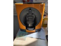 Orange coffee maker Krups Dolce Gusto
