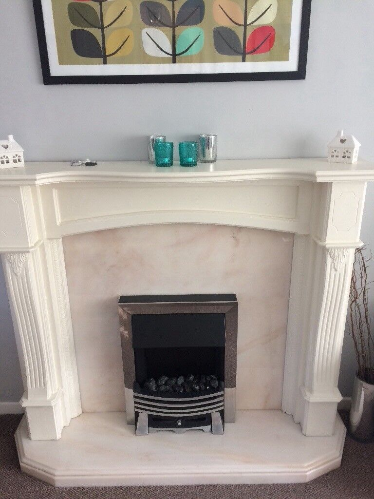 fireplace with electric fire reduced price in stockton on tees