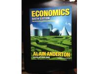 A level economics textbook, Alain Anderton 2015 for sale  Northamptonshire