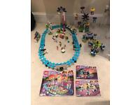 Lego Friends Rollercoaster and other rides