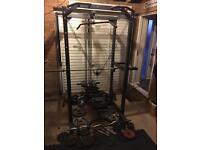 Body max strength frame with cable pulley + extras