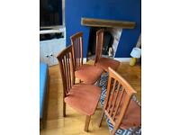 FREE dining chairs x 4