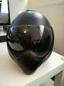 Roof boxer v8 helmet matt black