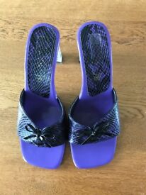 Ladies slip on heels