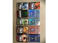 Full set of Alex Rider books (10) by Anthony Horowitz - teen spy thrillers - very good condition