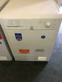 Indesit 8 kg condenser tumble dryer. Model IDC8T3
