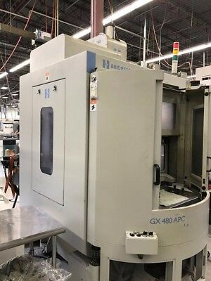 Used Hardinge Gx 480 Apc Cnc Vertical Machining Center Mill W Pallet Changer 11