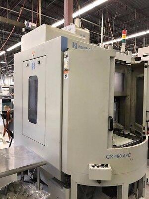 Used Hardinge Gx 480 Apc Cnc Vertical Machining Center Mill W Pallet Changer 11