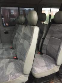 Triple van seats