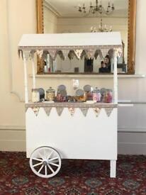Beautiful Handmade Sweet Trolley/Cart To Hire