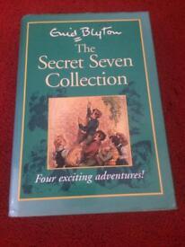 Secret Seven Book - Hard back - 4 stories.