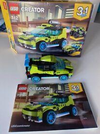 Lego 3in1 Rocket Rally Car set (31074)