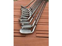 Men's golf clubs choice of two sets of irons