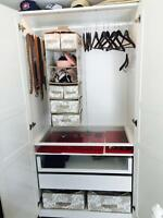 BEAUTIFUL IKEA WARDROBE