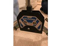 Secure clamp wheel lock