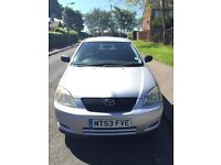 TOYOTA COROLLA 2003 (53) T2 1.4 5DR