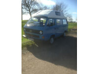 VW T25 Camper - 1985 - MOT'd Ready for Easter Camping and Festivals