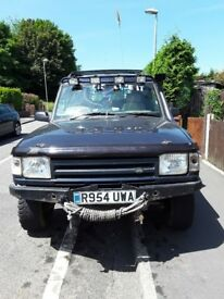LAND ROVER 300TDI OFF ROAD READY 12 MOUTH MOT**