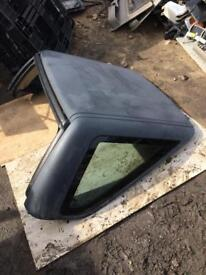 Land Rover freelander detachable roof