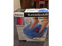 HoMedics bubble foot spa ultra