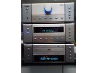 Goodmans X Pro Micro 1990 5.1 Surround Sound Hifi Amp + DVD / CD Player + Tuner + Speakers