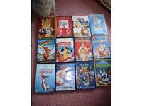 12 DISNEY DVDS JOBLOT