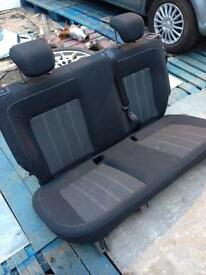 Vauxhall Corsa D limited edition 3dr, rear seats