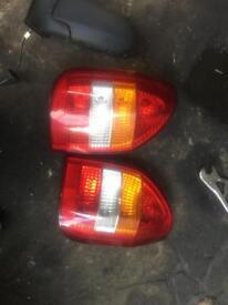 Mk1 Zafira back light