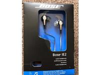 BOSE IE2 headphones with box and soft case