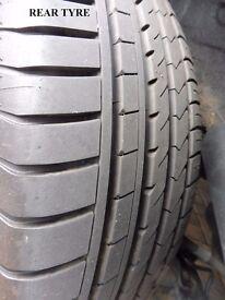 4 x 215/45ZR18 Tyres
