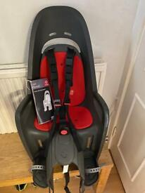 Hamax Zenith bike seat, exc cond, fits on pannier rack