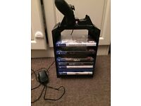 PS4 chrarging station plus 1 controller and 7 games