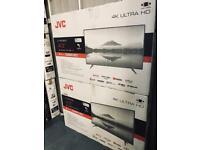 Brand new smart tv JVC 43 inch 4K new model 2020 with Alexa
