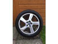 "Volvo v60 s60 17"" alloy wheel 215 50 17"