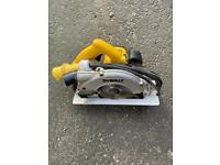Dewalt 110 v circle saw