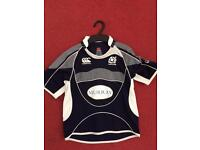 Official Scotland rugby shirt Age 6