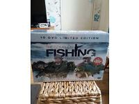 unopened 10 dvd limited edition complete fishing collection